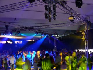 Large indoor party